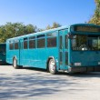 Two Blue Buses — Stock Photo #8615684