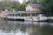 Home over water — Stock Photo