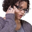 Cute Girl Talking on the Phone — Stock Photo #9526389