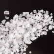 Sea salt crystals - Stock Photo