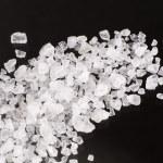 Sea salt crystals — Stock Photo