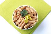 Whole wheat pasta — Stock Photo