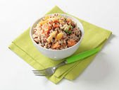 Mixed rice with vegetables — Stock Photo