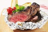 Roast beef fillet — Stock Photo