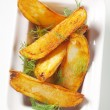 Potato wedges — Stock Photo #8110870