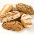 Various types of bread — Stock Photo #8293824