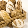 Various types of bread — Stock Photo