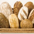 Various types of bread — Stock Photo #8293850