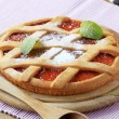 Jam tart - Stock Photo