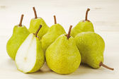 Ripe Green Pears — Stock Photo