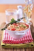 White bean stew — Stock Photo