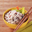 Bowl of mixed rice — Stock Photo