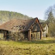Ramshackle rural structure - Stock Photo