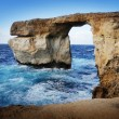 The Azure Window, Island of Gozo - Foto de Stock  