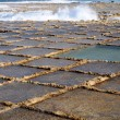 Salt evaporation ponds — Stock Photo #8823069