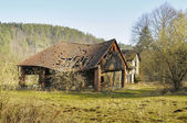 Ramshackle rural structure — Stock Photo