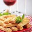 Crispy snacks — Stock Photo