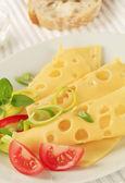Swiss cheese — Stock Photo