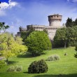 Medieval castle in Tuscany - Stock Photo