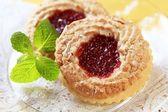 Jam cookies — Stock Photo