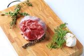 Shin beef — Stock Photo