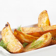 Potato wedges — Stock Photo #9831236