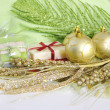 Christmas and New Year Accessories — Stock Photo