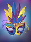 Carnival mask — Stockvector