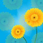 花朵 春天 — 图库矢量图片