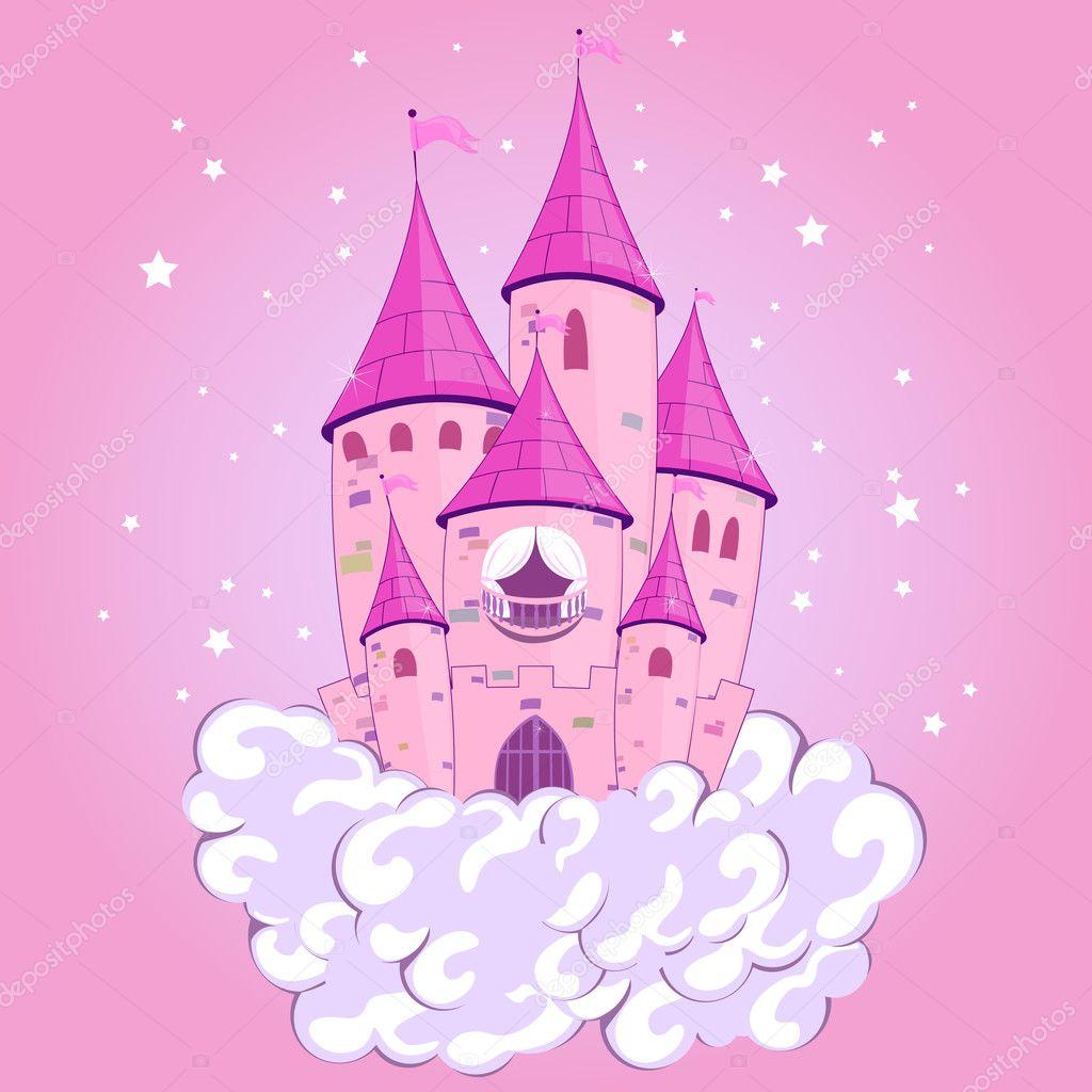 princess castle stock vector ramonakaulitzki 9519884. Black Bedroom Furniture Sets. Home Design Ideas