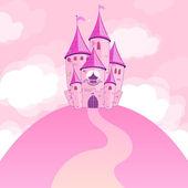 Beautiful castle — Stock Vector