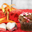 Valentine Day Treats — Stock Photo