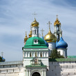 Trinity Sergius Lavra in Sergiev Posad. Russian Federation — Stock Photo #10126298