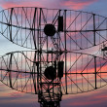 Modern radar — Stock Photo #10127107