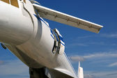 The Tupolev Tu-144 (NATO name: Charger) — Stock Photo