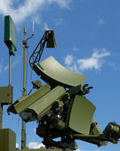 Modern Russian UNV-2V radar — Stock Photo