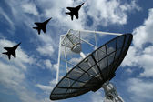 Modern Russian radar — Stock Photo
