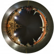 Spherical panorama of the night Red square. Moscow, Russia — Stock Photo #10167274
