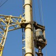 Details of the construction drill closeup — Stock Photo #10167527