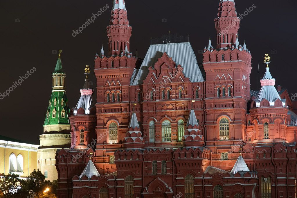 Night Red square. Moscow, Russia  Stock Photo #10167377