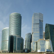 Panorama of the international business centre, Moscow — Stock Photo