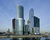 Skyscrapers of the International Business Center, Moscow — Stock Photo