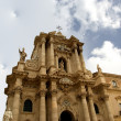 CATHEDRAL OF SYRACUSE, Sicily, Italy - 图库照片