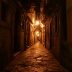 Ancient streets of Syracuse, Sicily, Italy — Stock Photo #8994051