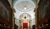 L'interno della Cattedrale di Siracusa, Sicilia, Italia — Foto Stock