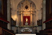The interior of the Cathedral OF SYRACUSE (Siracusa, Sarausa) — Stock Photo