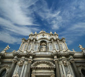 The Cathedral of Catania, entitled to St. Agatha, Sicily — Stok fotoğraf