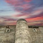 Castello Ursino is a castle in Catania, Sicily, southern Italy — Stock Photo