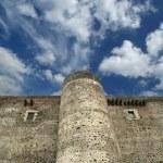 Castello Ursino is a castle in Catania, Sicily, southern Italy — Stock Photo #9000548