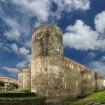 Castello Ursino is a castle in Catania, Sicily, southern Italy — Stock Photo #9001313